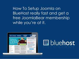 Bluehost-joomla